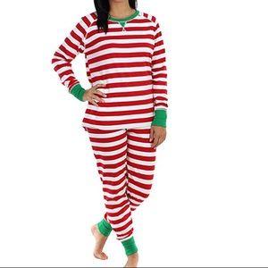 Other - Christmas pajamas - red/white stripes
